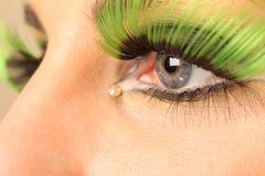 Sombreador de ojos Imagen de archivo libre de regalías
