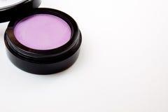 Sombreador de ojos púrpura Imágenes de archivo libres de regalías