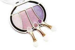 Sombreadores de ojos del maquillaje Imagenes de archivo
