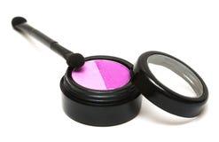 Sombreadores de ojos rosados del maquillaje Fotografía de archivo