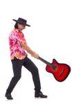 Sombreiro vestindo do homem Foto de Stock Royalty Free