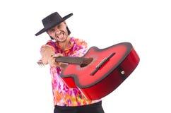 Sombreiro vestindo do homem Imagem de Stock Royalty Free