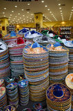 Sombreiros mexicanos na loja de lembranças Fotografia de Stock Royalty Free
