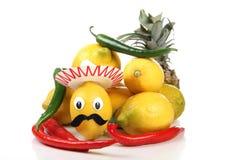 Sombrero и лимон Стоковое Фото