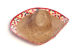 Sombrero. A classic sombrero hat isolated on a white background Stock Photo