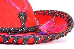 Sombrero. Closeup of embroidered mexican sombrero Royalty Free Stock Image