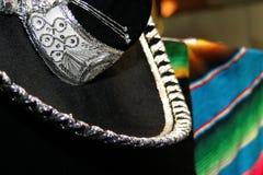 Sombrero. A detail of mexican sombrero Stock Image
