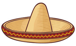 sombrero Royalty Ilustracja