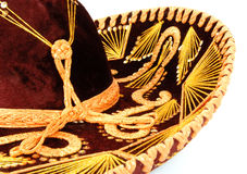 Sombrero. Intricate details of a sombrero stock photo