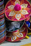 Sombrero. At an open air market at cozumel Mexico on the port royalty free stock photography