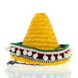 Sombrero amarillo Imágenes de archivo libres de regalías