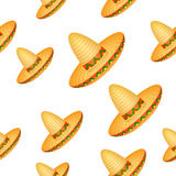 Sombrero background Stock Photo