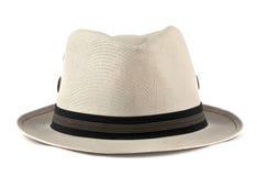 Sombrero blanco Foto de archivo libre de regalías