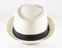 Sombrero blanco Imagen de archivo libre de regalías