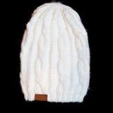 Sombrero blanco Imágenes de archivo libres de regalías