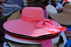 Sombrero Brimmed Imágenes de archivo libres de regalías