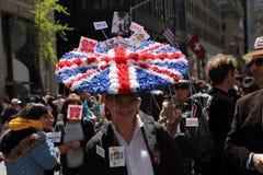 Sombrero británico de Pascua Imagen de archivo