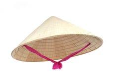 Sombrero cónico asiático Imágenes de archivo libres de regalías