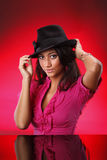 Sombrero caliente Imagen de archivo