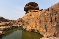 Sombrero Chom Dao (Grand Canyon de Tailandia) fotos de archivo