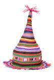 Sombrero coloreado brillante de la mascarada Fotografía de archivo libre de regalías
