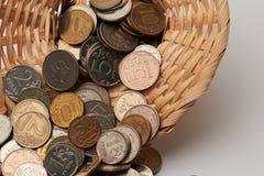 Sombrero con el dinero Imagen de archivo libre de regalías