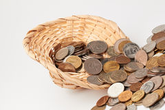 Sombrero con el dinero Imágenes de archivo libres de regalías