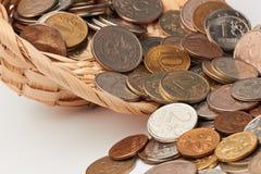 Sombrero con el dinero Fotos de archivo