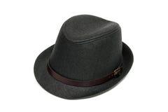 Sombrero con estilo de moda de los hombres Foto de archivo libre de regalías