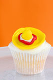 Sombrero cupcake. Fun cupcake to celebrate Mexican fifth of May or Cinco de Mayo Royalty Free Stock Images