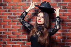 Sombrero de arriba Foto de archivo libre de regalías