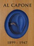 Sombrero de Capone del Al Imagenes de archivo