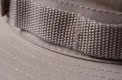 Sombrero de color caqui de Brown Boonie Imagen de archivo