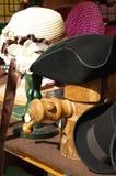 Sombrero de copa, jugador de bolos y sombrero histórico 2 Foto de archivo libre de regalías