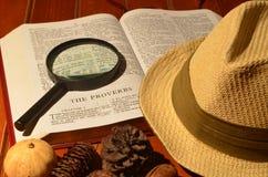 Sombrero de Gentlemans en el estudio Fotografía de archivo libre de regalías