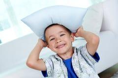 Sombrero de la almohada Imagen de archivo libre de regalías