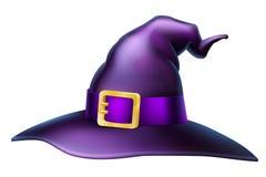 Sombrero de la bruja de Halloween Foto de archivo