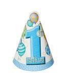 Sombrero de la fiesta de cumpleaños Foto de archivo