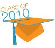 Sombrero de la graduación Fotos de archivo