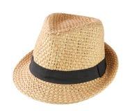 Sombrero de la moda aislado en el fondo blanco Fotografía de archivo