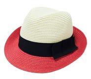 Sombrero de la mujer de dos tonos Foto de archivo