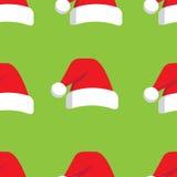 Sombrero de la Navidad stock de ilustración
