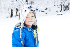 Sombrero de la nieve de Billy Imágenes de archivo libres de regalías
