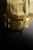 Sombrero de la pesca Foto de archivo