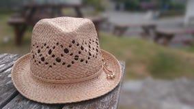 Sombrero de la playa imagen de archivo