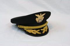 Sombrero de la policía Imagen de archivo libre de regalías