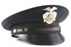 Sombrero de la policía Foto de archivo libre de regalías