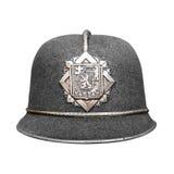 Sombrero de la policía Fotografía de archivo libre de regalías