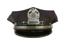 Sombrero de la policía Fotos de archivo libres de regalías