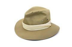 Sombrero de las hojas de ruta (traveler) Foto de archivo libre de regalías